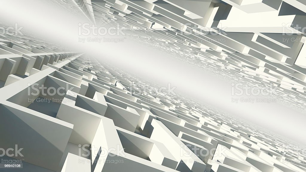 Abstract world royalty-free stock photo