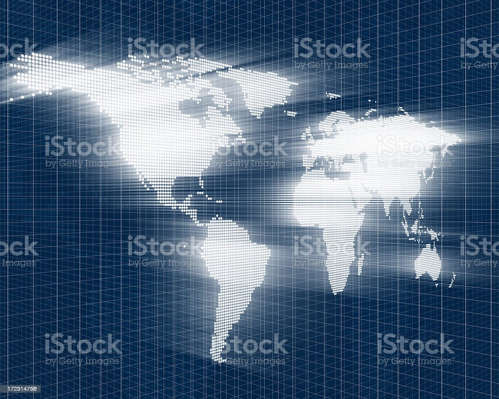 Abstract World XL royalty-free stock photo