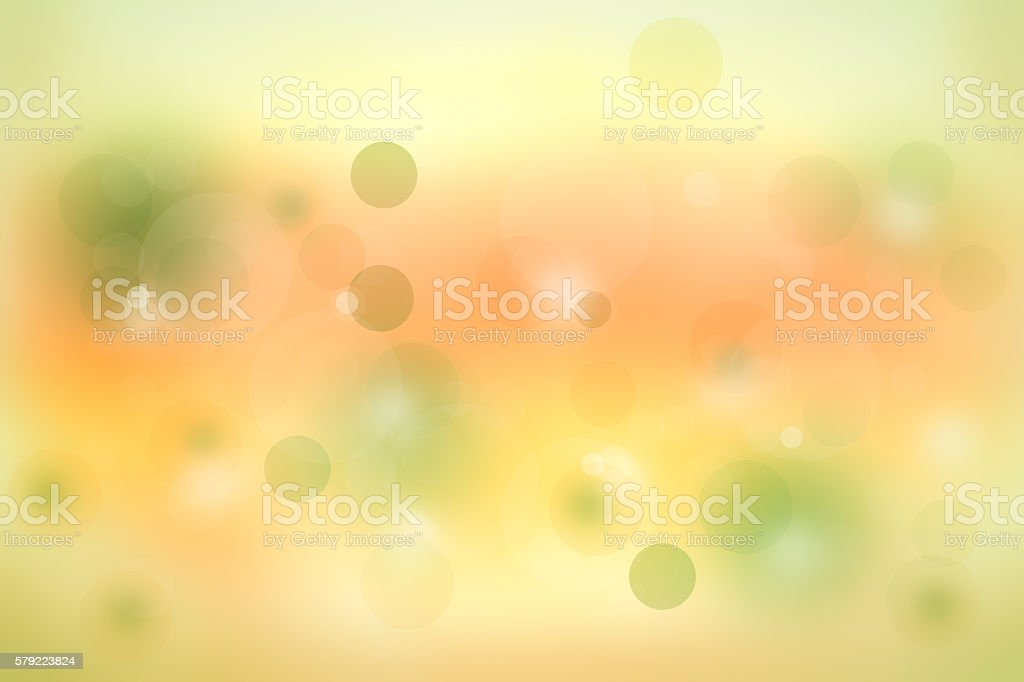 Foto de Abstract Yellow And Green Background With Circles