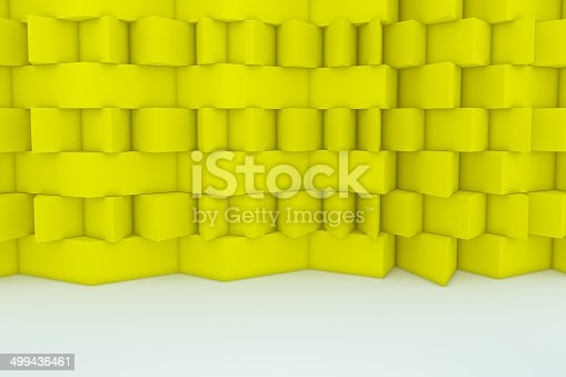 922736646 istock photo Abstract Yellow Building Construction 499436461