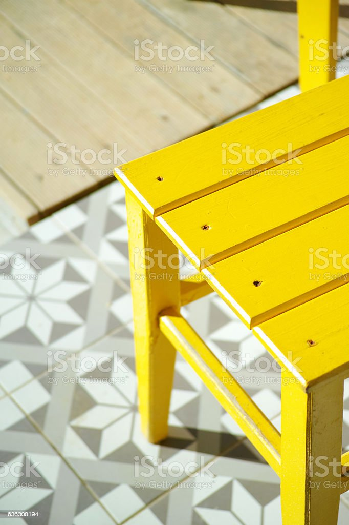 Abstract Yellow Grey Background stock photo
