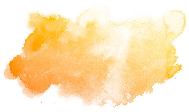 jaune abstrait fond aquarelle. - dessin au pastel photos et images de collection