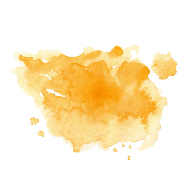 Abstract yellow watercolor background Watercolor Painting, Acrylic Painting, Drawing - Activity, Painted Image, Watercolor Paints stained stock pictures, royalty-free photos & images