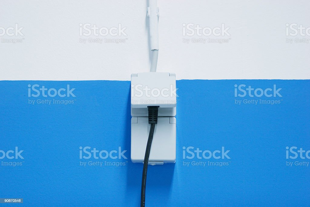 Abstract zocket line royalty-free stock photo