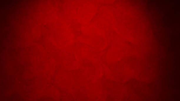Abstract_red_background_texture - Photo