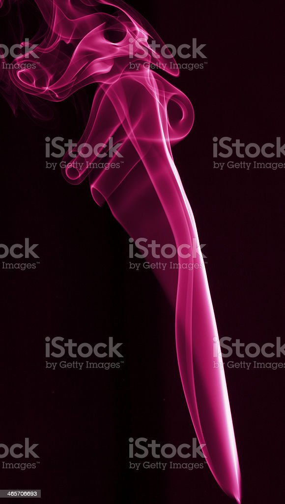 Abstraction colored smoke royalty-free stock photo