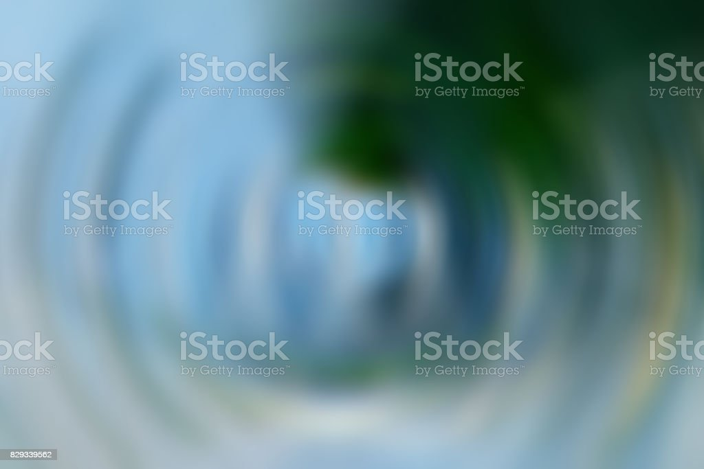 abstraction of blue color round background stock photo