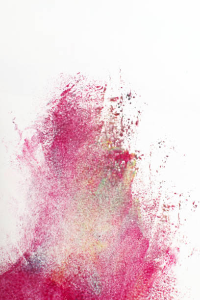 Abstractionism, graffiti, creativity, modern art stock photo