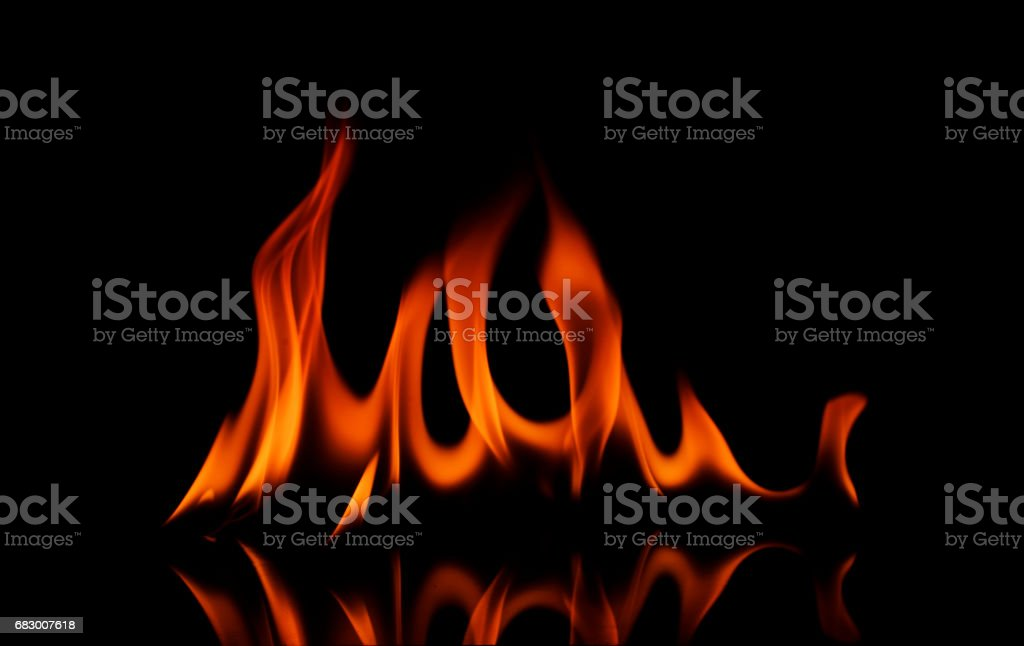 Abstracts fire texture Isolated on black backgrounds foto de stock royalty-free