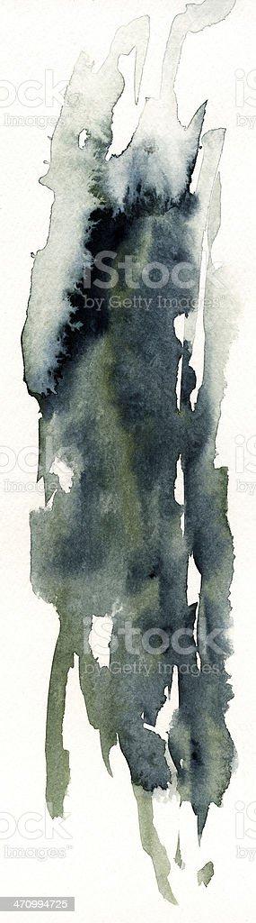 Abstratct Watercolor #1 royalty-free stock photo