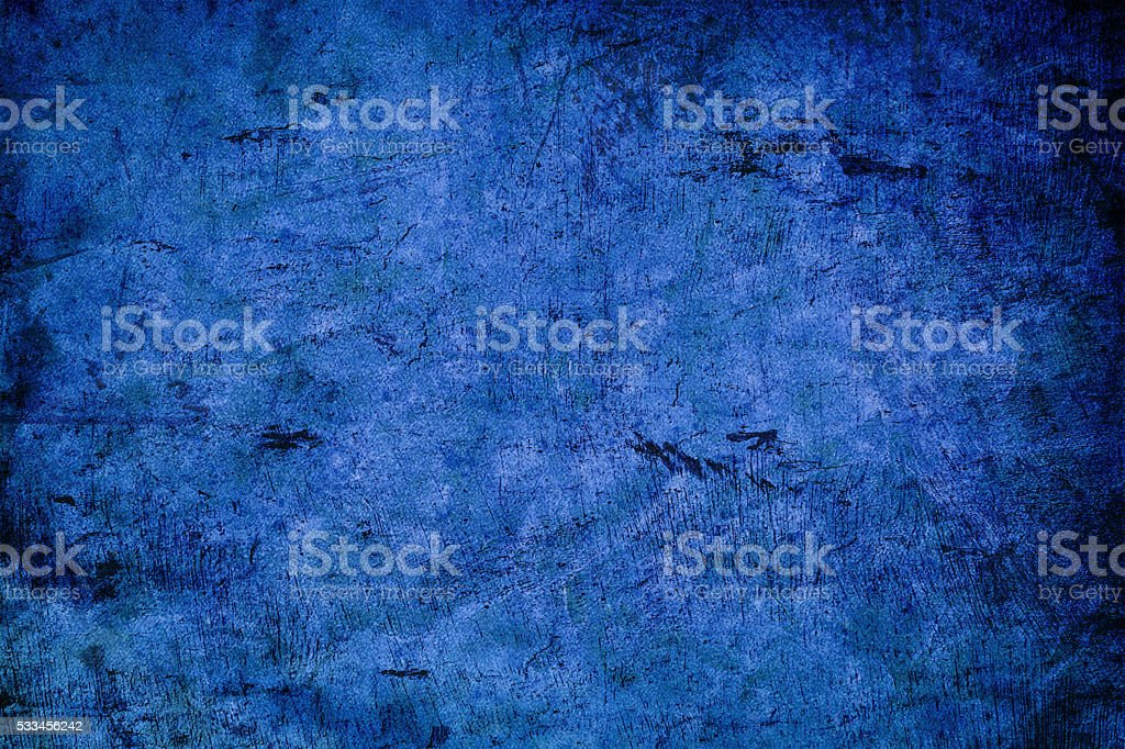 Abstruse blue grunge background stock photo