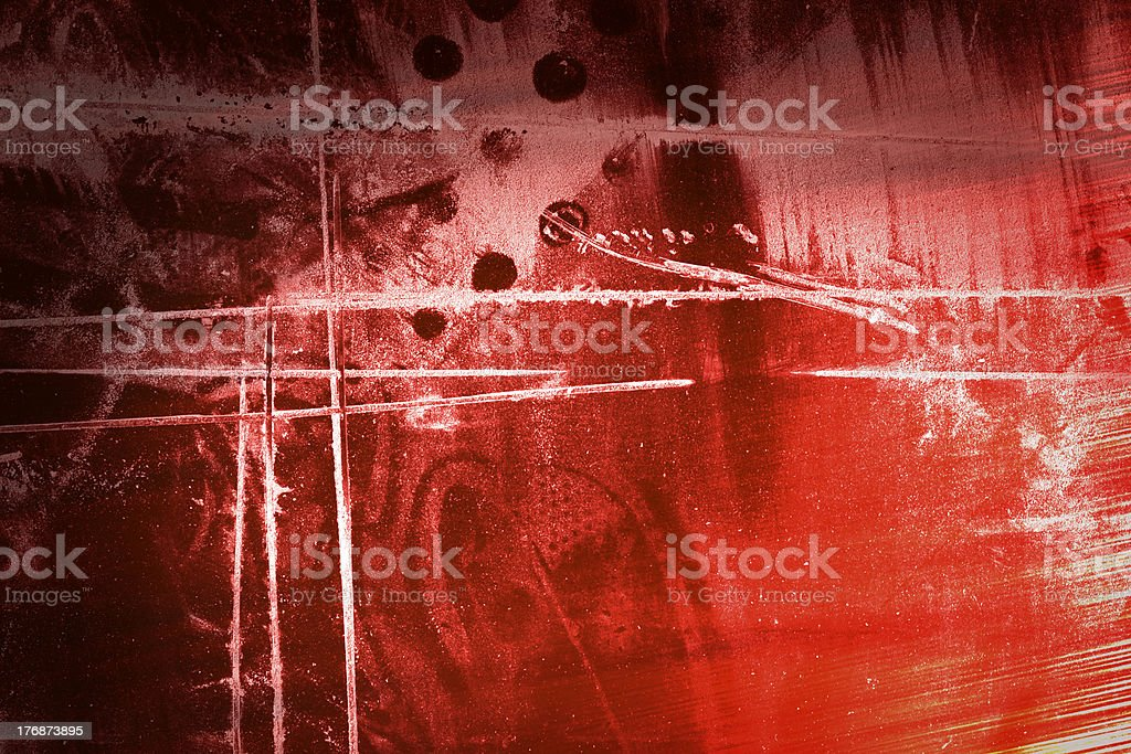 Abstruse redness royalty-free stock photo
