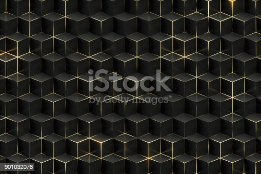 istock Abtract Black Technology Background 901032078