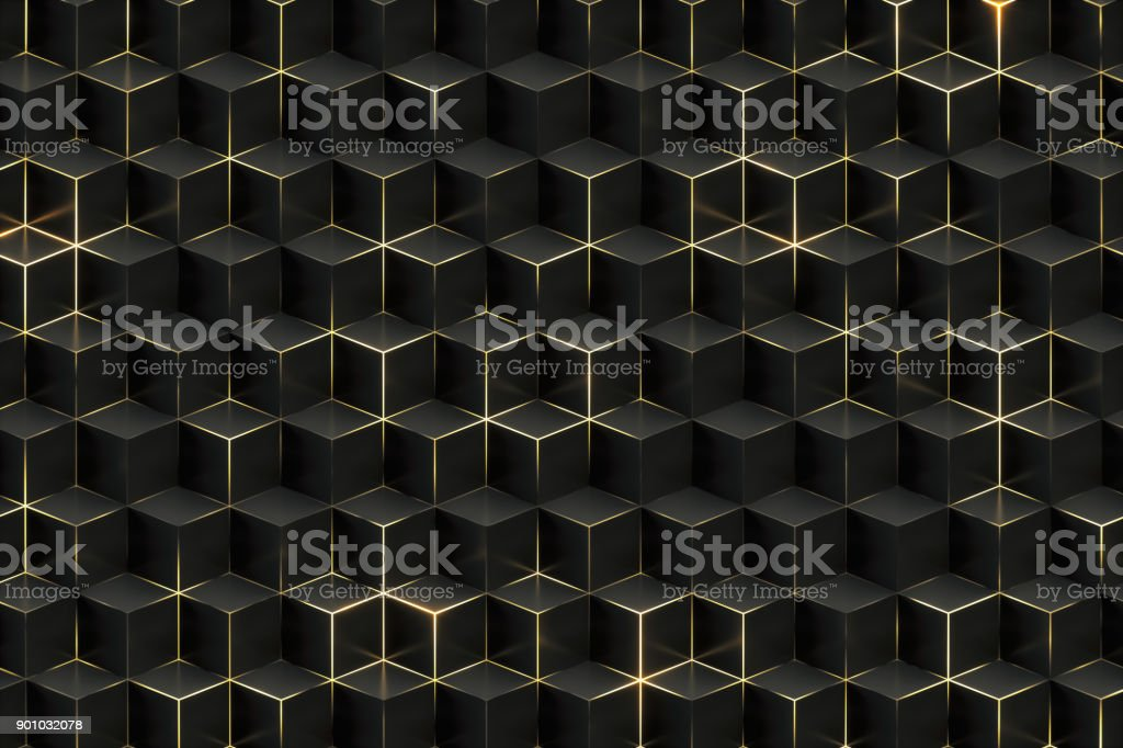 Abtract Black Technology Background stock photo