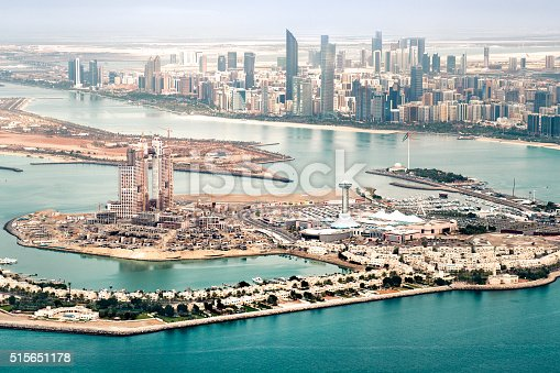 517465184 istock photo Abu Dhabi aerial view 515651178