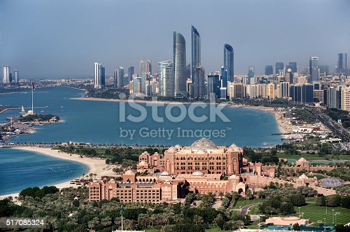 517465184 istock photo Abu Dhabi famous buildings 517085324