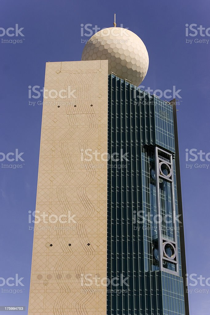 Abu Dhabi modern architecture royalty-free stock photo