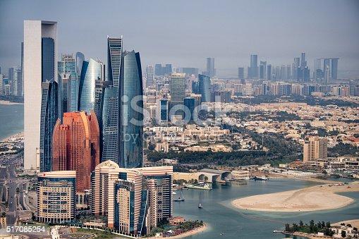 517465184 istock photo Abu Dhabi skyline 517085254