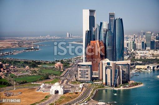 517465184 istock photo Abu Dhabi skyscrapers 517194246