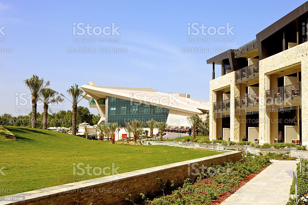 Abu Dhabi, UAE - Westin Golf Resort and Spa stock photo