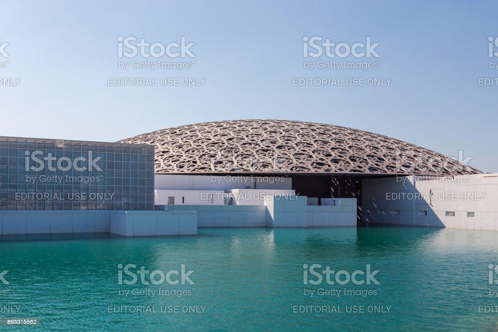 Abu Dhabi, Verenigde Arabische Emiraten, 14 November 2017: Louvre Abu Dhabi. foto