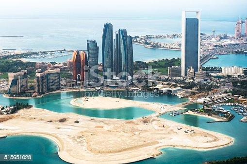 517465184 istock photo Abu Dhabi viewed from above 515651028