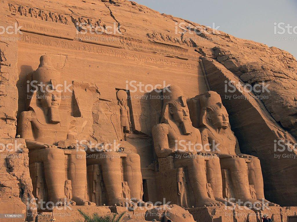Abu Simbel 1 royalty-free stock photo