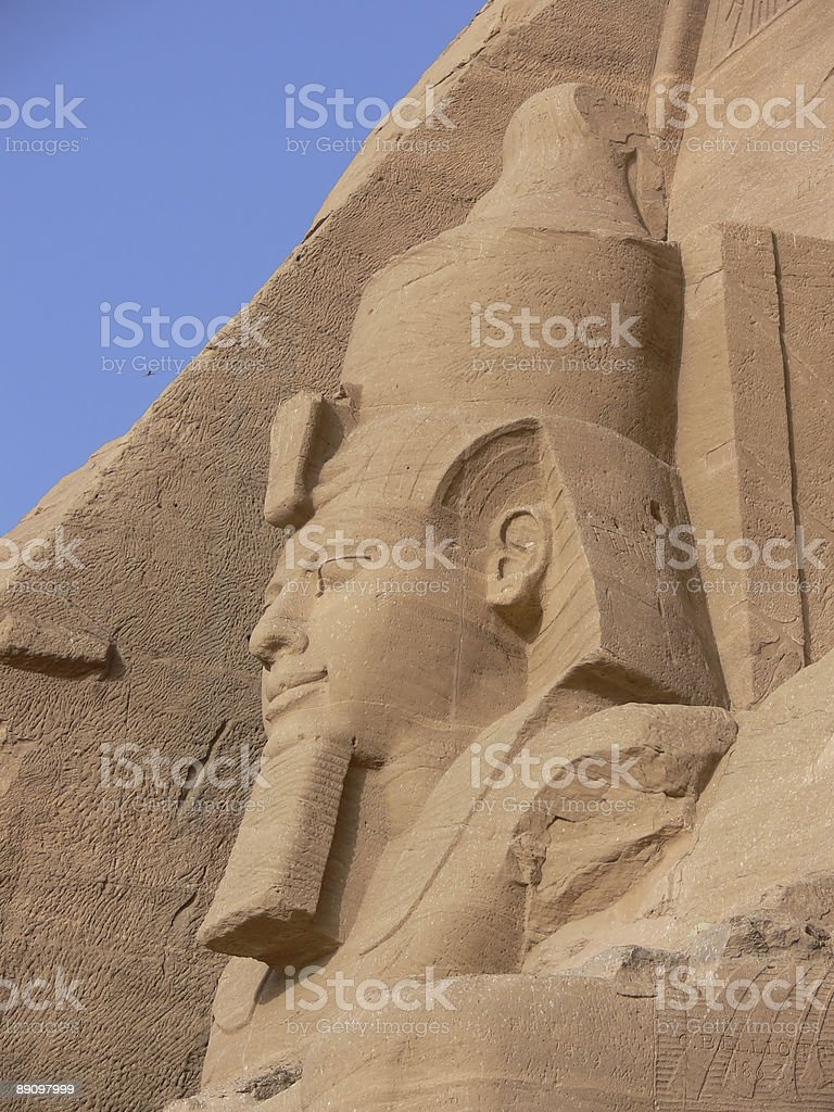 Abu Simbel 13 foto stock royalty-free