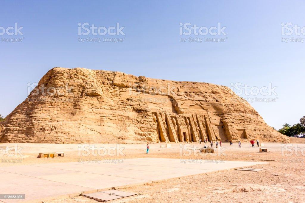 Abu Simbel Hügel stock photo