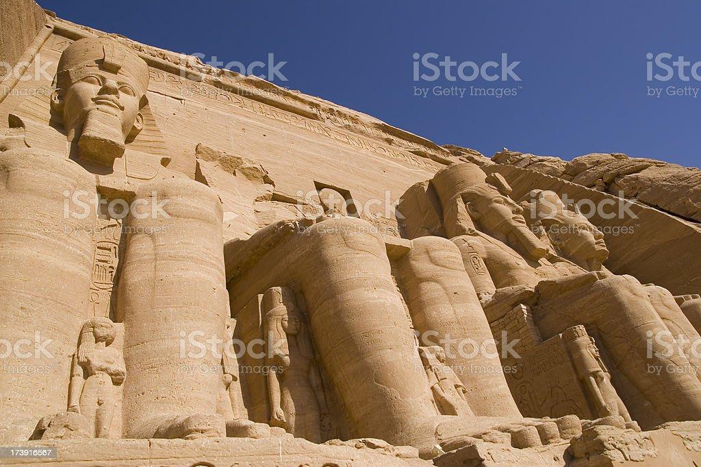 Abu Simbel royalty-free stock photo