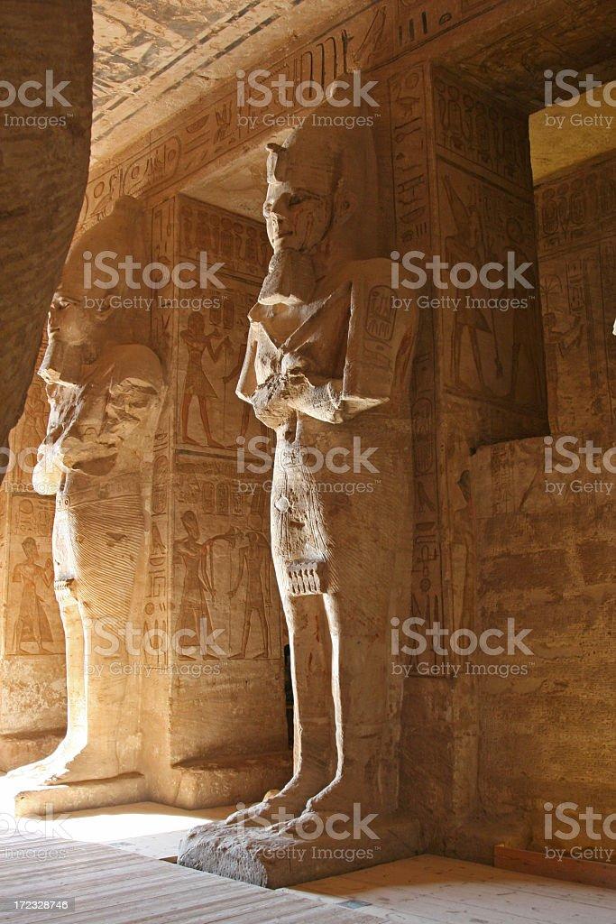Abu Simbel: Ramses II stock photo
