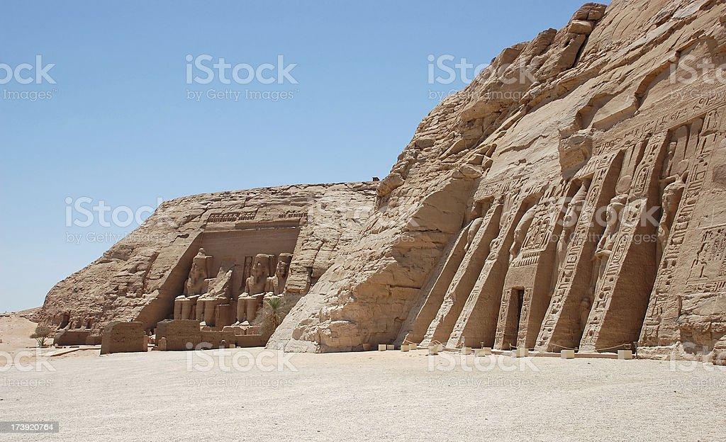 Abu Simble stock photo