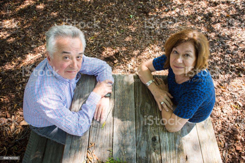 Abuelos, the Latino Grandparents stock photo