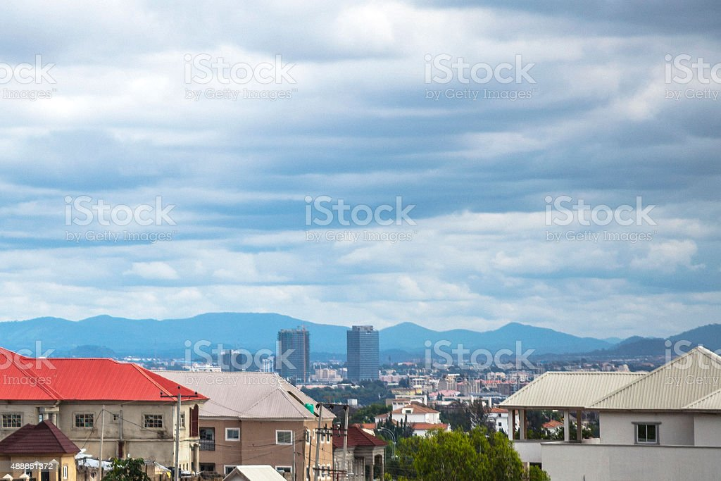 Abuja city, Nigeria. stock photo