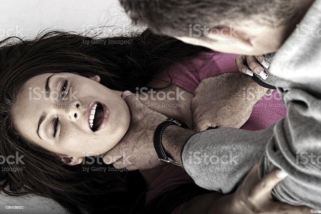 Abused stock photo