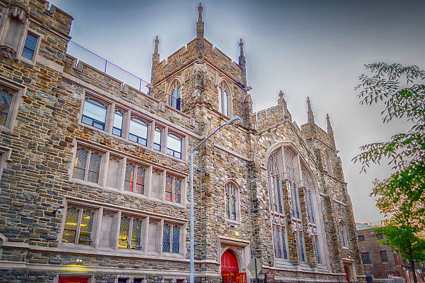 Abyssinian Baptist Church, New York stock photo