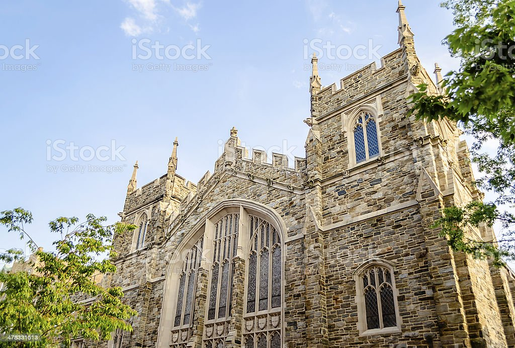 Abyssinian Baptist Church, New York stock photo