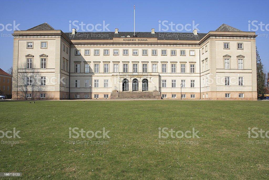 Academia Sorana / Sorø Akademi royalty-free stock photo