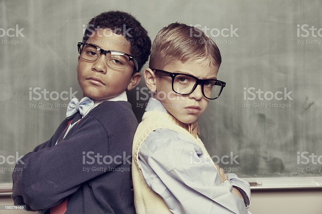 Academic Bullies royalty-free stock photo