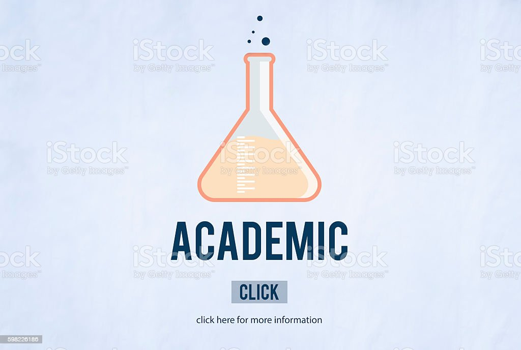 Academic Education Biology Study Learning Online Concept foto royalty-free