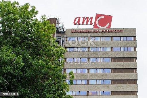 istock Academic Medical Centre (AMC) in Amsterdam 588390314