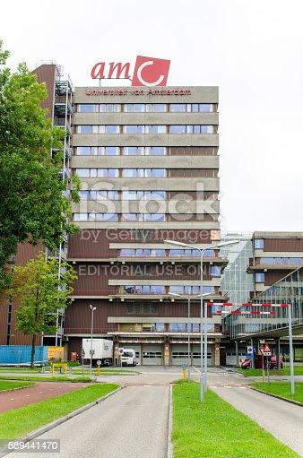 istock Academic Medical Centre (AMC) in Amsterdam 589441470
