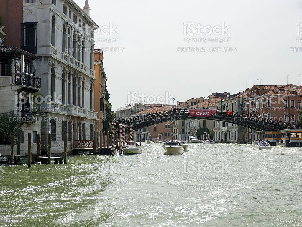 Ponte dell'Accademia royalty-free stock photo
