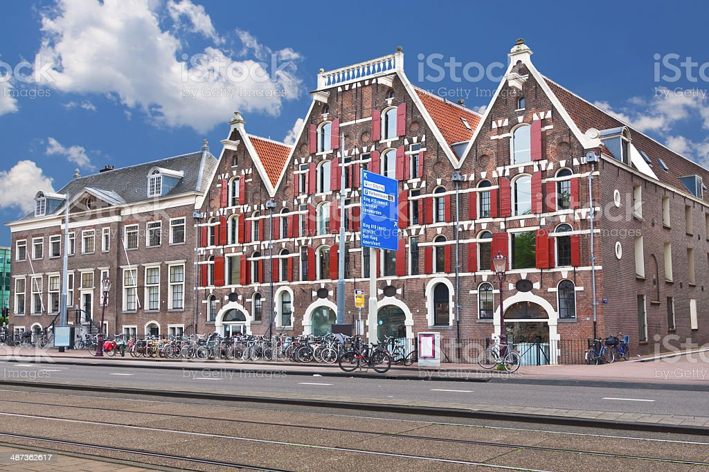 Academy of Architecture, Amsterdam. royalty-free stock photo