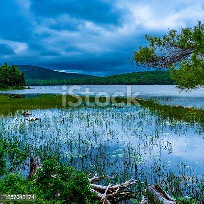 Eagle Lake, Acadia National Park, Bar Harbor, Maine, USA