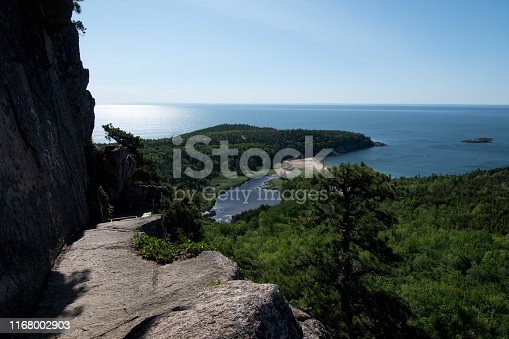 Acadia National Park - Beehive Trail View: Summer 2019