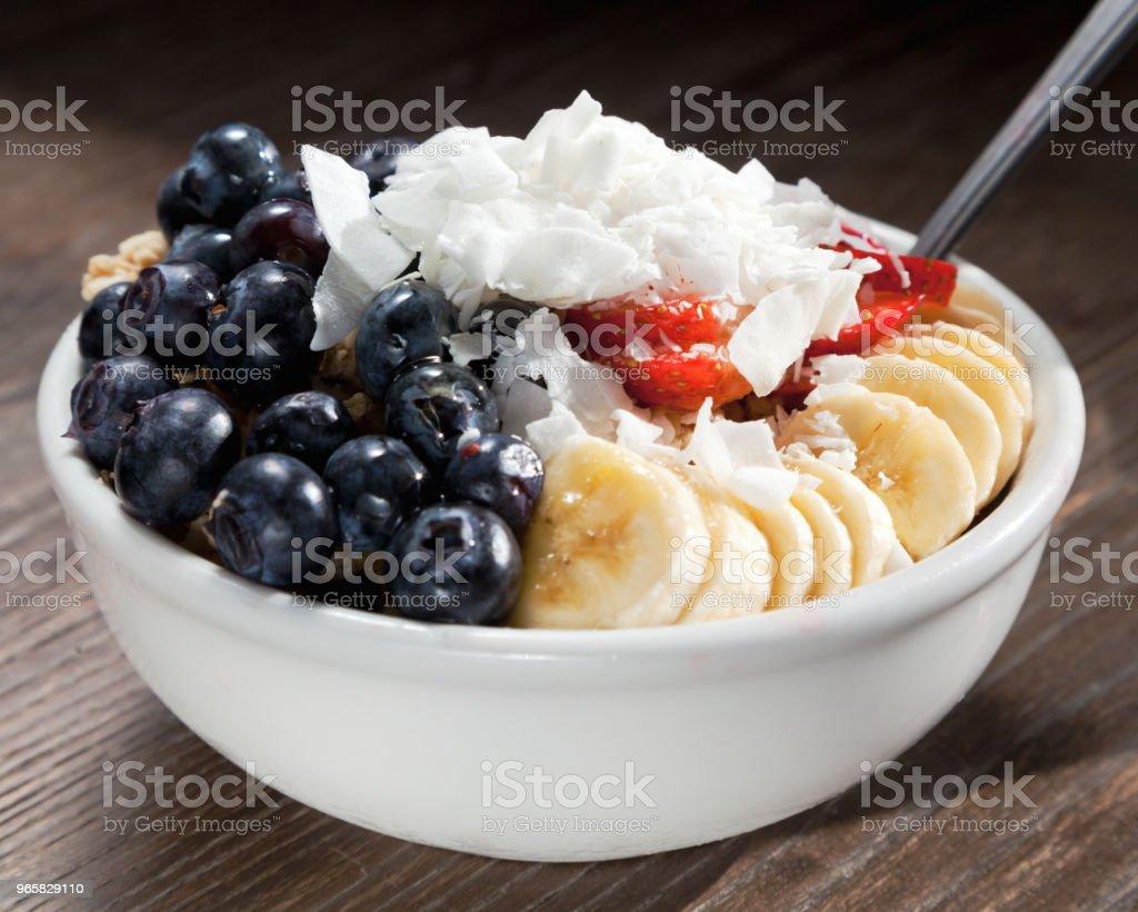 Acai Fruit Bowl - Royalty-free Acai Stock Photo