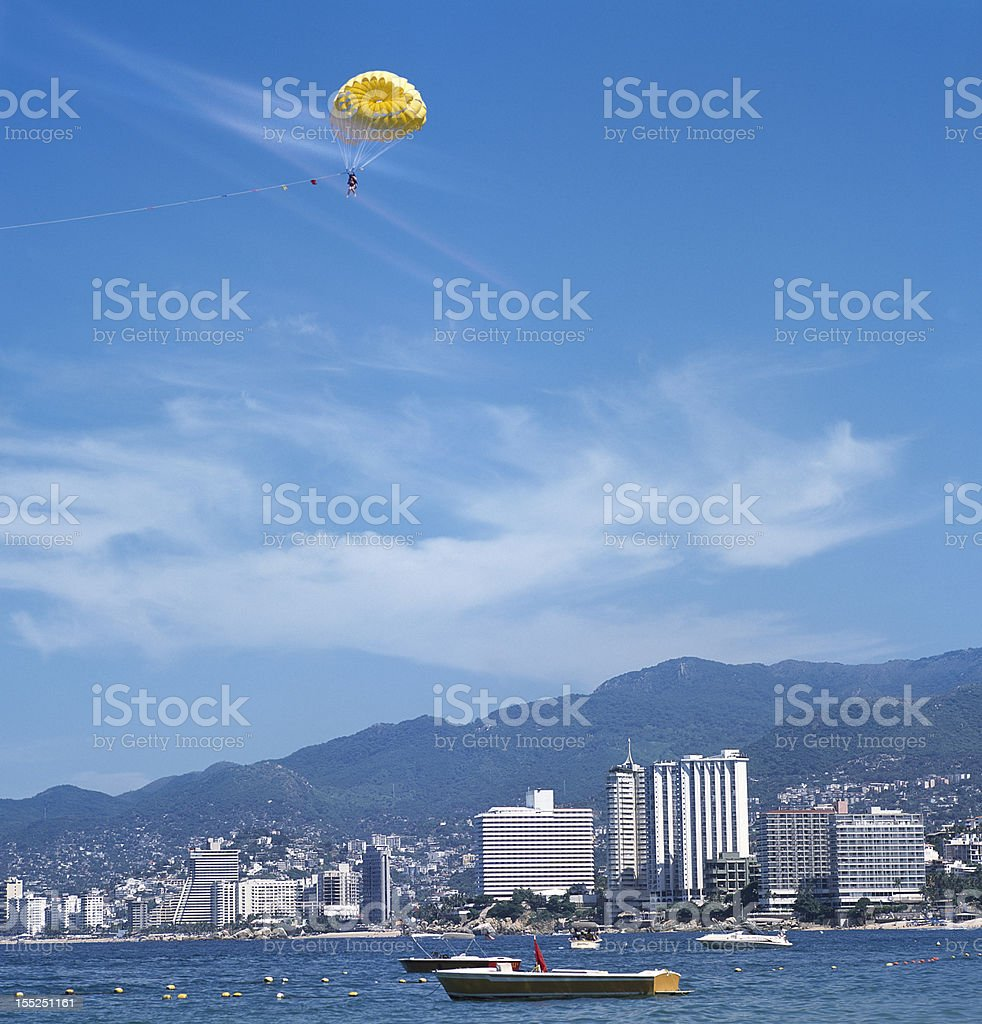 Acapulco Bay, Guerrero, Mexico stock photo