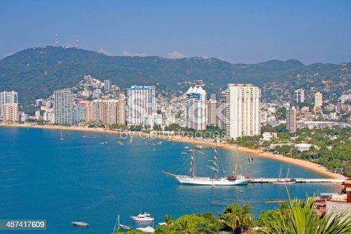 istock Acapulco beachfront, Mexico 457417609