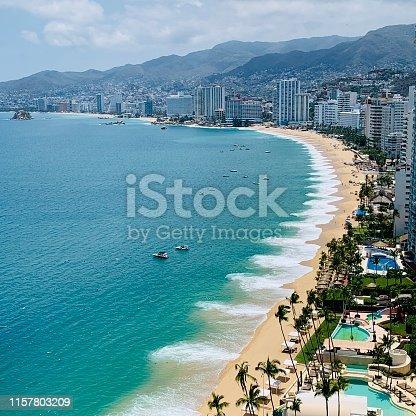 Acapulco Blue sea